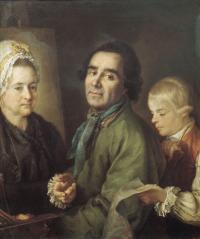 Чей это портрет работы П.С. Дрождина?