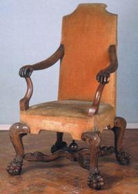 Где находится «Адмиралтейское кресло Петра I»?