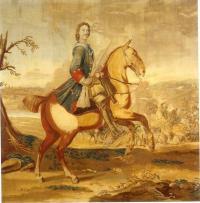 Кто создал в 1722 году шпалеру «Полтавская баталия»?