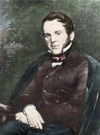 Чей портрет, созданный  в 1851г. художником М. Скотти?
