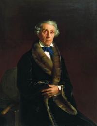 Чей портрет работы С.К. Зарянко, 1850г.?