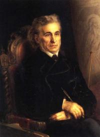 Чей портрет работы А. Г. Горавского в 1871г.?
