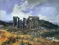 «Храм Аполлона Эпикурейского в Фигалии» 1835 - ГМИИ