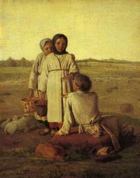 «Крестьянские дети в поле» (1810-е) Государственный Русский музей