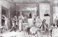 Старость художника, женившегося без приданого в надежде на свой талант. 1846-1847