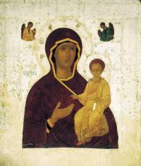 Богоматерь Одигитрия (1482) Русский музей, Санкт-Петербург.