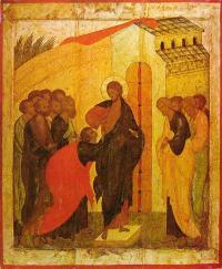 К какой школе относится икона 16 века «Уверение Фомы»?