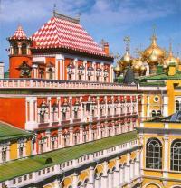 Кто не принимал участия в строительстве Кремлевских теремов?