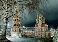 Как называется этот храм «строгановского барокко»?