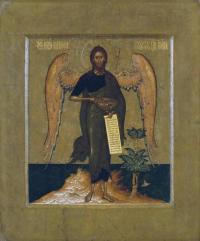 Кто автор иконы «Иоанн Предтеча - Ангел пустыни»?