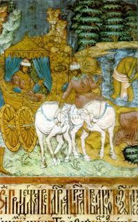 Откуда роспись 17 века «Исцеление Неемана от проказы»?