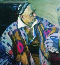 Чей портрет, писанный в 1941 году художником М.Нестеровым?