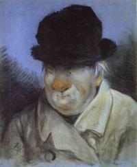 Какой архитектор изображен  на портрете работы А.Орловского 1811?