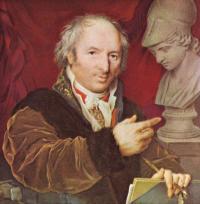 Какой скульптор изображен на портрете П.О. Росси?