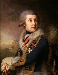 Портрет Ф. А. Боровского. X., м. 80,5 X 62,5. 1799. ГРМ