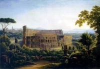 Кто автор пейзажа «Вид Рима. Колизей» 1816г.?