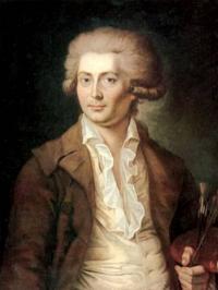 Чей автопортрет, написанный в 1780-е годы?