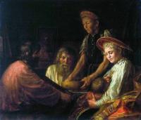 «Крестьянский обед» 1774г. ГТГ