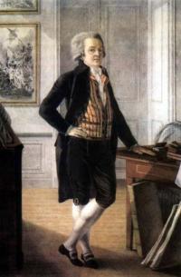 Чей автопортрет, созданный в середине 18 века?