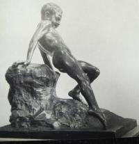 «Мальчик, спускающийся в воду». 1886. ГРМ