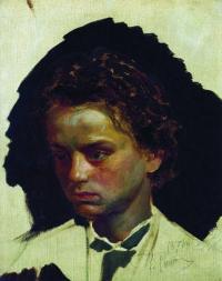 Чей портрет работы И. Репина (1871)?