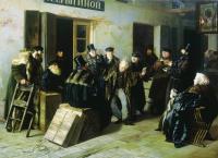 Шутники. Гостинный двор в Москве. 1865. ГТГ