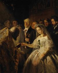 Неравный брак, 1862. ГТГ