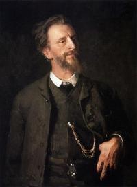 Чей портрет работы И. Репина?