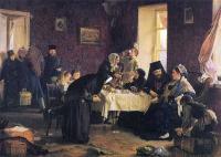 Кто автор картины «В монастырской гостинице»?