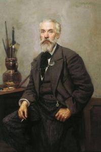 Чей портрет написанный художником Грандковским Н. К. в 1902 г.?