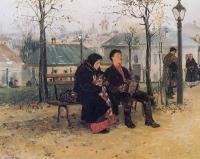 «На бульваре» 1886