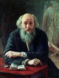 Чей портрет работы Николая Ярошенко?