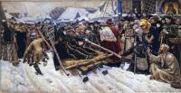 Кто автор картины «Боярыня Морозова»?