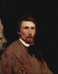Какой художник написал себя в 1873 году?