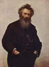 Чей портрет кисти И. Н. Крамского?