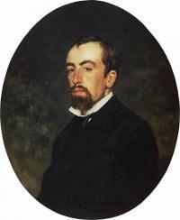 Чей портрет работы И. Репина (1877)?