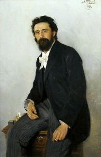 Чей портрет работы В.Е.Маковского?