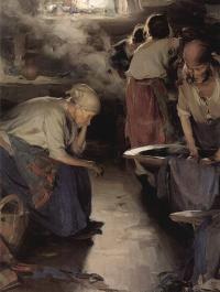 Кто автор картины «Прачки» созданной около 1901 года?