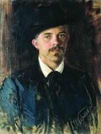 Чей портрет работы И. С. Куликова, 1900 года?
