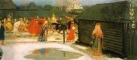 Кто автор полотна «Свадебный поезд в Москве (XVII столетие)» 1901?