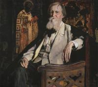 Кто автор портрета художника В.М. Васнецова?