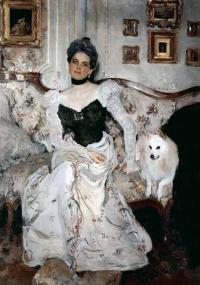 Кто автор портрет княгини З.Н.Юсуповой (1902)?