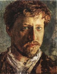 Чей автопортрет, написанный в 80-х годах XIX века?