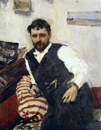 Чей портрет работы Валентина Серова, 1891 года?