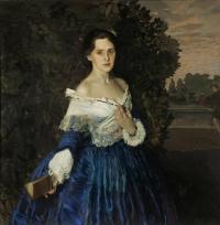 Кто автор картины «Дама в голубом»?