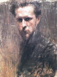 Чей автопортрет 1901 года?
