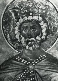 Царь давид. Рубеж XIV-XV вв. Фототека ГТГ.