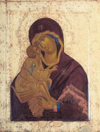 Кто автор иконы «Донская Богоматерь» 14 века?