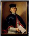 Венецианская школа  XVIII вв.  Портрет Прилата