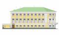 """Проект реставрации ОКН """"Дом военной силы"""". Восточный фасад"""